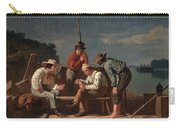 In A Quandary, Or Mississippi Raftsmen Carry-all Pouch