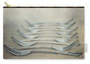 In A Row Carry-all Pouch by Priska Wettstein