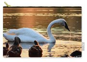 In A Stream Of Golden Light Carry-all Pouch