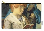 In Church Carry-all Pouch by Luigi da Rios