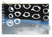 In Circles 2-abstract Painting Carry-all Pouch