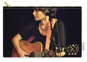 In Concert With Folk Singer Pieta Brown Carry-all Pouch