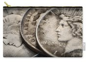 In God We Trust_silver Dollars Carry-all Pouch