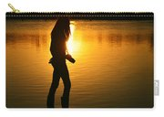 In Her Element Carry-all Pouch by Laura Fasulo