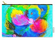 In Love Birds - Lorikeets Carry-all Pouch