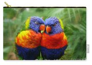 In Love Lorikeets Carry-all Pouch