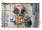 In Memory Basquiat Carry-all Pouch