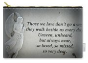 In Memory Carry-all Pouch