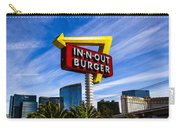 In N Out Carry-all Pouch