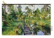 In The Backwaters Of Kerala Carry-all Pouch