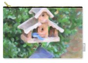 In The Birdhouse - Oil Carry-all Pouch