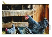 In The Chicken Coop Carry-all Pouch