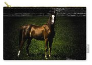 In The Corral 1 - Featured In Comfortable Art And Wildlife Groups Carry-all Pouch