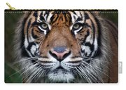 Tiger In Your Face Carry-all Pouch