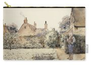 In The Garden Carry-all Pouch by Childe Hassam