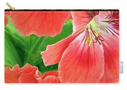 In The Garden. Geranium Carry-all Pouch