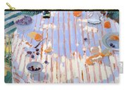 In The Garden Table With Oranges  Carry-all Pouch by Sarah Butterfield