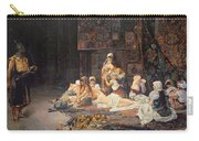 In The Harem Carry-all Pouch by Jose Gallegos Arnosa