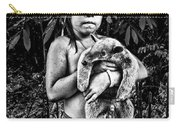 Girl With Oso Dormilon Carry-all Pouch