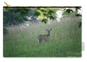 White-tailed Deer In Meadow  Carry-all Pouch