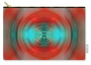 In The Moment - Energy Art By Sharon Cummings Carry-all Pouch