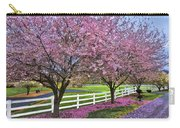 In The Pink Carry-all Pouch by Debra and Dave Vanderlaan