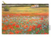 In The Poppy Field Carry-all Pouch