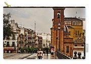 In The Rain - Puente De Triana Carry-all Pouch