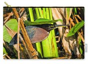 In The Shade Little Green Heron Carry-all Pouch