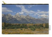 In The Shadow Of The Tetons Carry-all Pouch