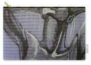 In The Shower - Portrait Of A Woman Carry-all Pouch