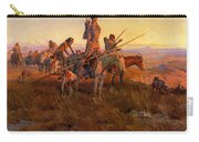In The Wake Of The Buffalo Hunters Carry-all Pouch