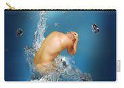 In The Water Carry-all Pouch by Mark Ashkenazi