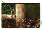 In The Woods By The River Carry-all Pouch