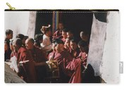 In Tibet Tibetan Monks 5 By Jrr Carry-all Pouch