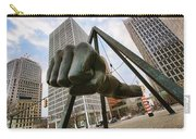 In Your Face -  Joe Louis Fist Statue - Detroit Michigan Carry-all Pouch by Gordon Dean II