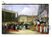 Inauguration Of A Monument In Memory Of Louis Xvi 1754-93 By Charles X 1757-1836 At The Place De La Carry-all Pouch