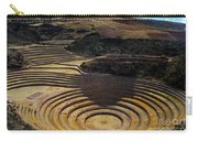 Inca Crop Circles At Moray Carry-all Pouch
