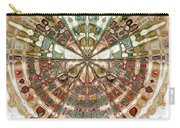 Incan Abstraction Carry-all Pouch by Amanda Moore