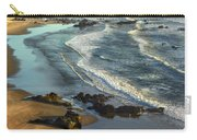 Incoming Waves At Bandon Beach Oregon Carry-all Pouch