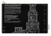 Independence Hall Transverse Section - Philadelphia Carry-all Pouch