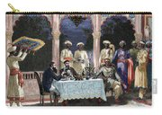 India  British Colonial Era  Banquet At The Palace Of Rais In Mynere Carry-all Pouch