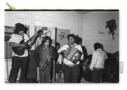 Indian Bar The Lucky Dollar  Tohono O'odham Chicken Scratch Band South Tucson Arizona 1975 Carry-all Pouch