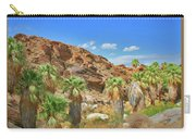 Indian Canyons View In Palm Springs Carry-all Pouch