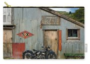 Indian Chout At The Old Okains Bay Garage 1 Carry-all Pouch