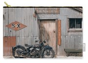 Indian Chout At The Old Okains Bay Garage 3 Carry-all Pouch