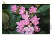 Indian Hawthorn Blossoms Carry-all Pouch