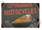 Indian Motocycle Dealer Carry-all Pouch