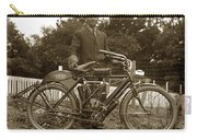 Indian Camelback Motorcycle Circa 1908 Carry-all Pouch