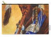 Indian Playing Flute Carry-all Pouch